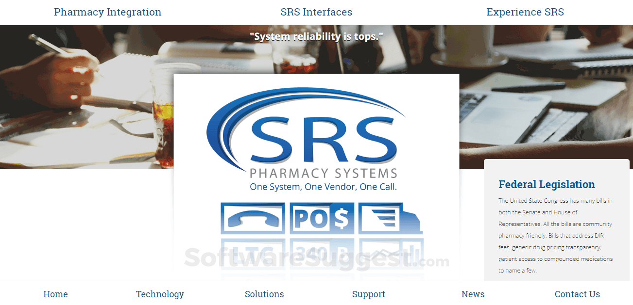 SRS Pharmacy Systems Pricing, Features & Reviews 2019 - Free