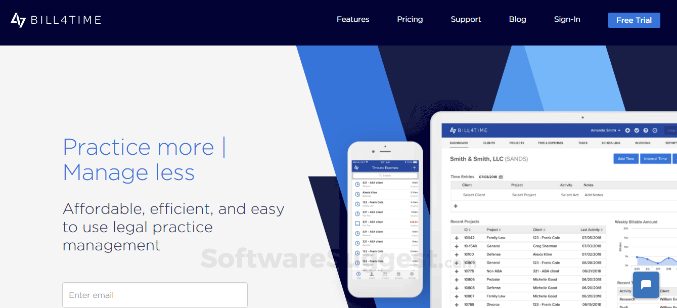Bill4Time Pricing, Features & Reviews 2019 - Free Demo