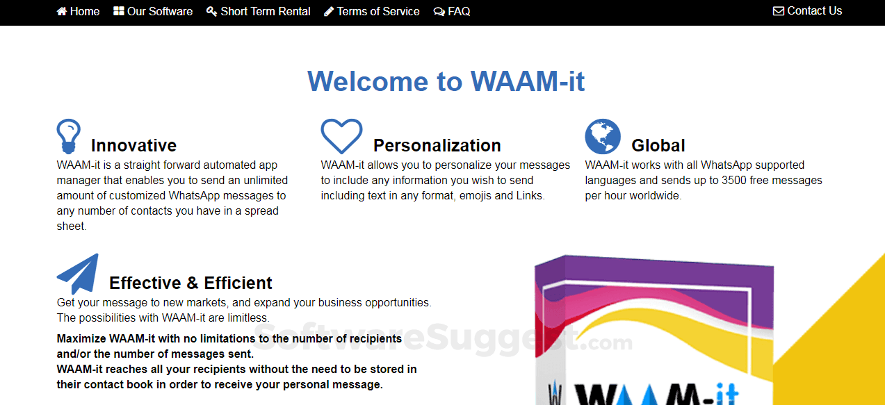 WAAM-it Sender Pricing, Features & Reviews 2019 - Free Demo