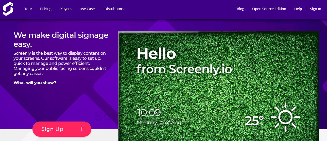 Screenly Pricing, Features & Reviews 2019 - Free Demo