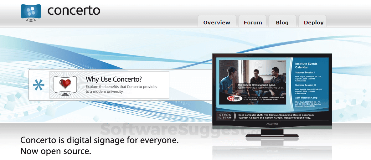 Concerto Digital Signage Pricing, Features & Reviews 2019 - Free Demo