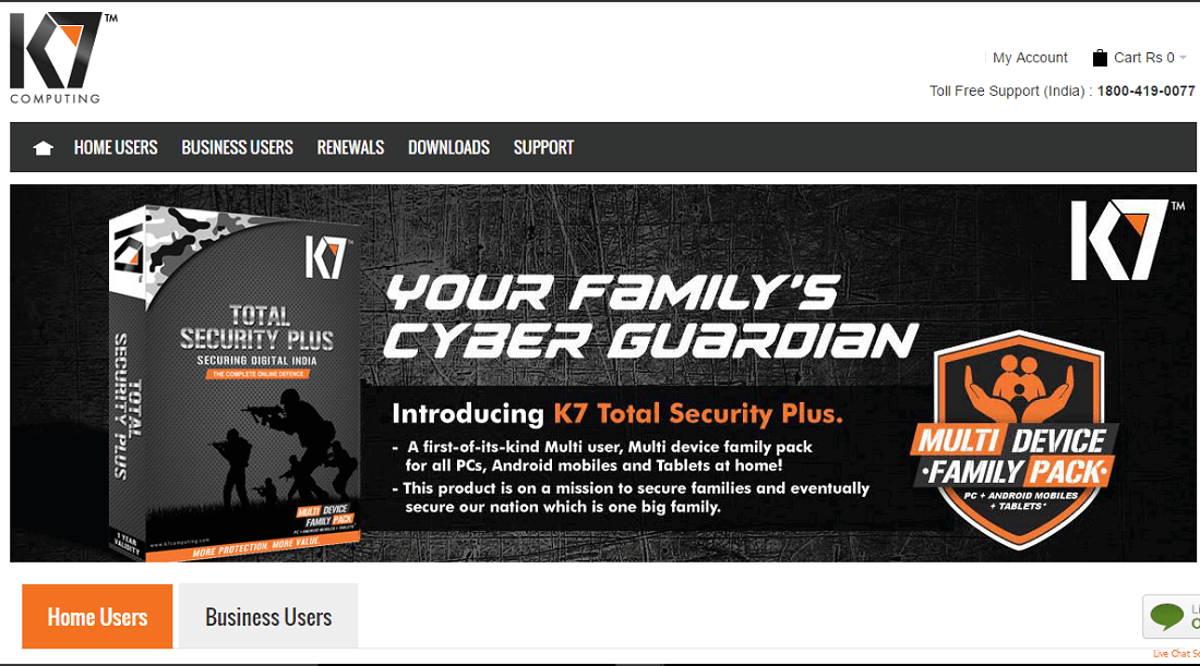 k7 total security price 3 user