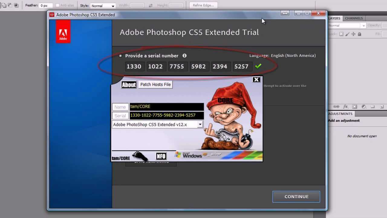 Select, group, and link layers in Photoshop]