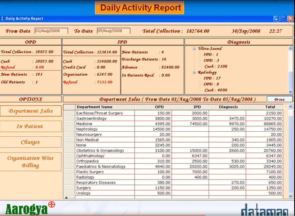 Aarogya Hospital Management Software Pricing Reviews
