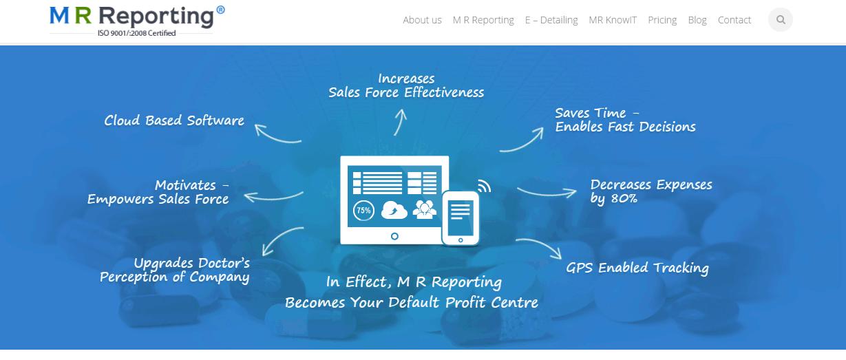 E-Techs MR Reporting Software