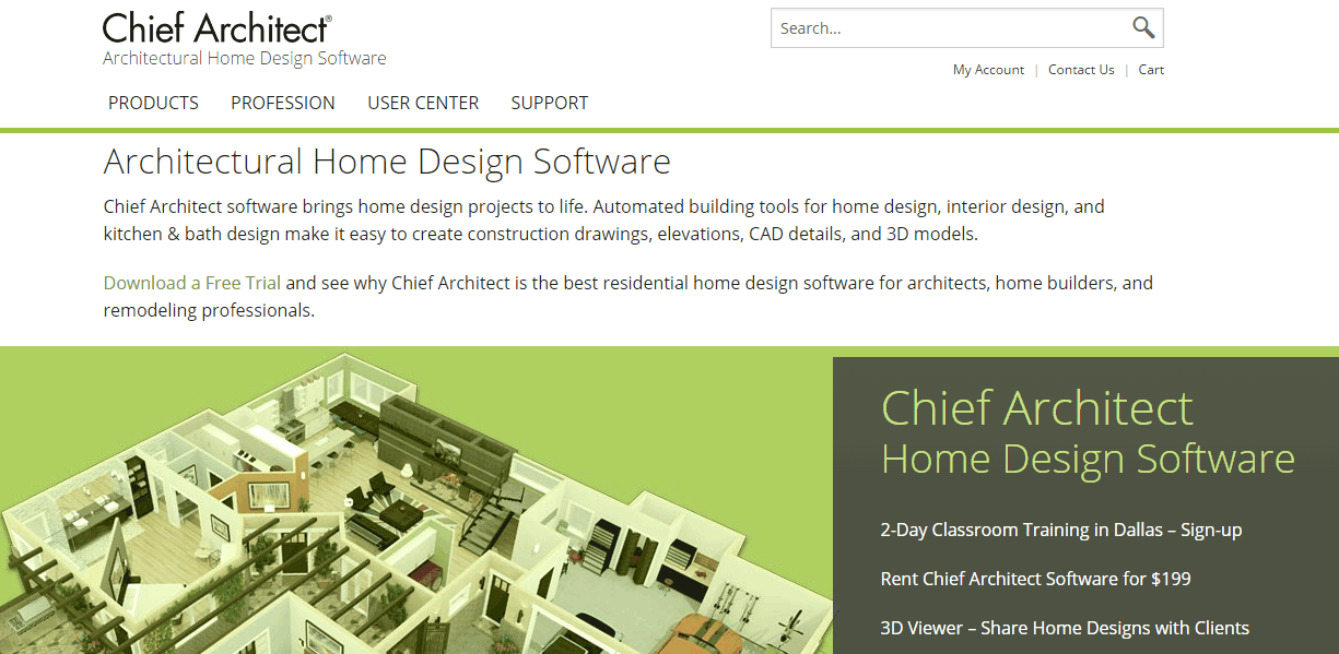 Chief Architect User Reviews & Pricing