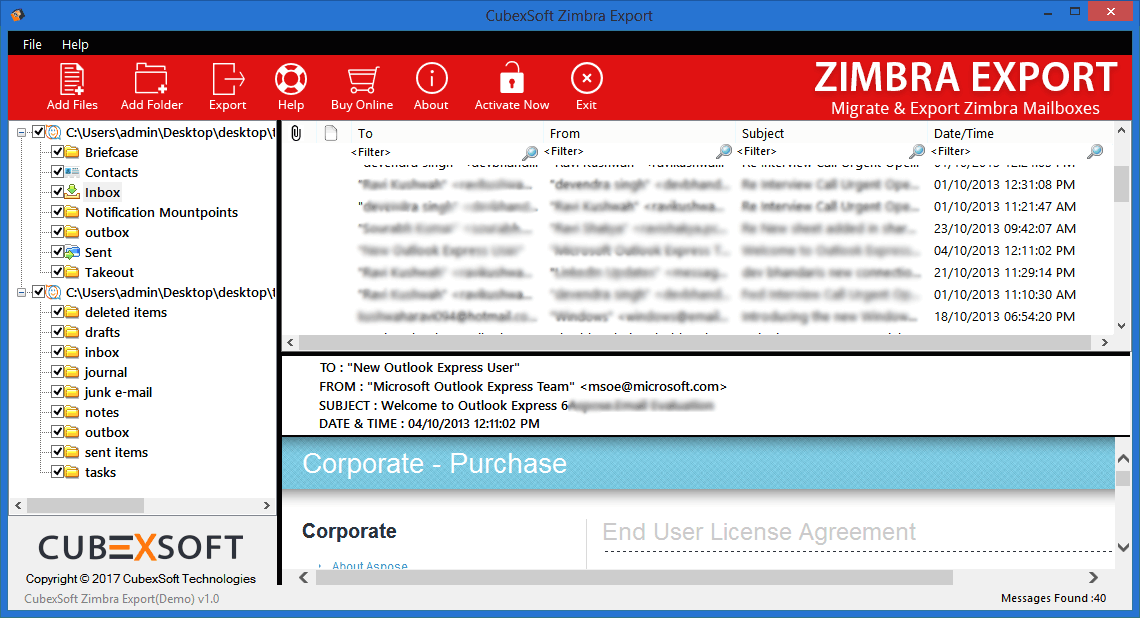 CubexSoft Zimbra Export - Reviews, Pricing, Free Demo and Alternatives